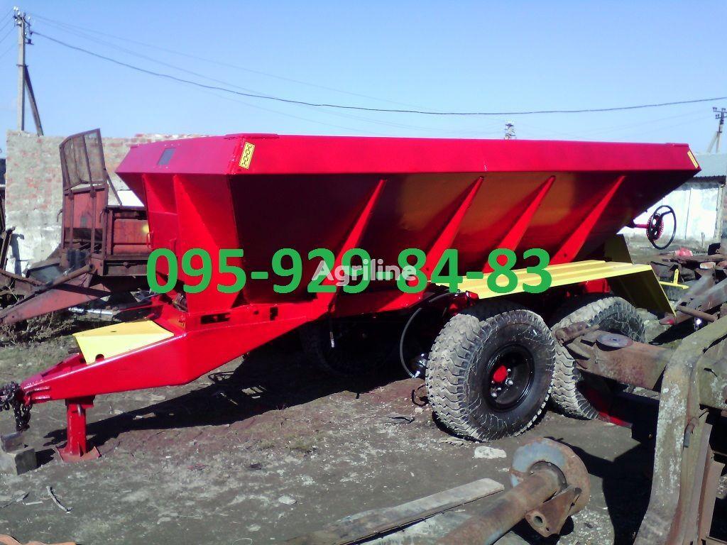 new MVU-8 fertiliser spreader