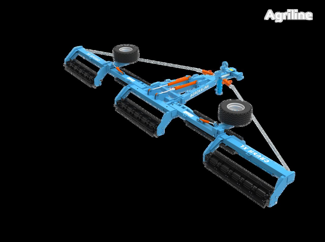 new AGROKALINA CRUSH-10 field roller