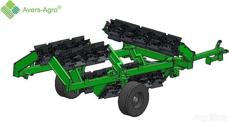 new Avers-Agro Katok izmelchitel Shredder L90.470V vodonalivnoy (barabany diam field roller