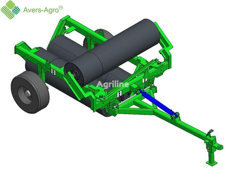 new Avers-Agro Katok prikatyvayushchiy vodonalivnoy gladkiy 6m s diametrom barabano field roller