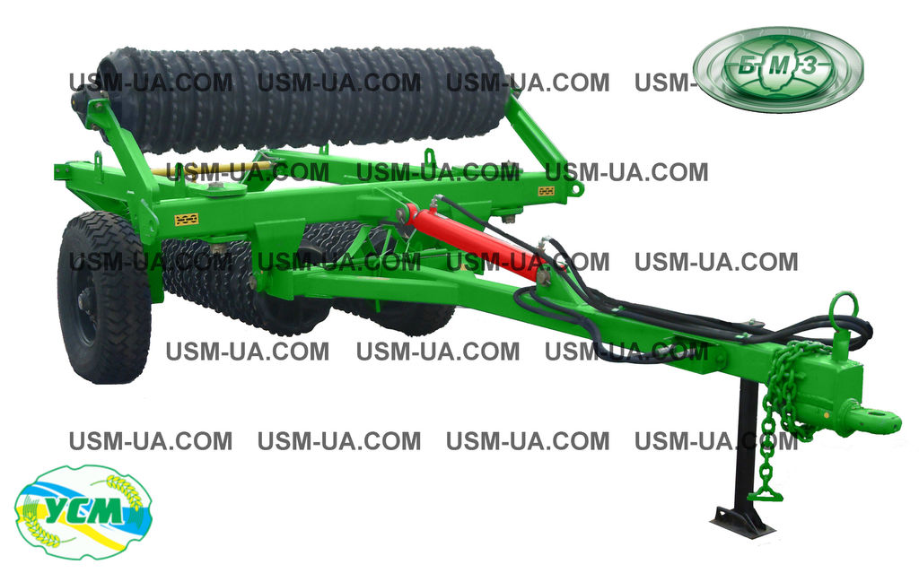 new Belotserkovmash Uplotnitel pochvy pricepnoy UGP-12,5 field roller
