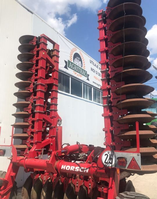 HORSCH Optipack 8DD field roller