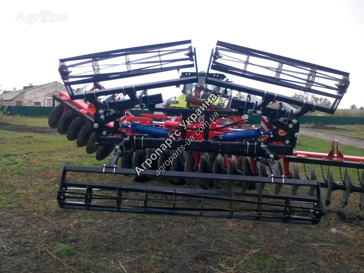 new KUHN field roller
