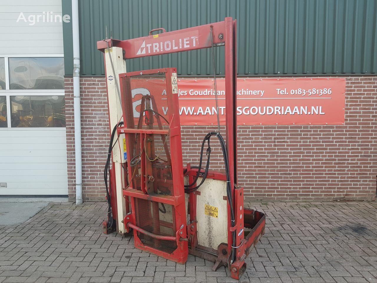 TRIOLIET Hefmast  forage equipment
