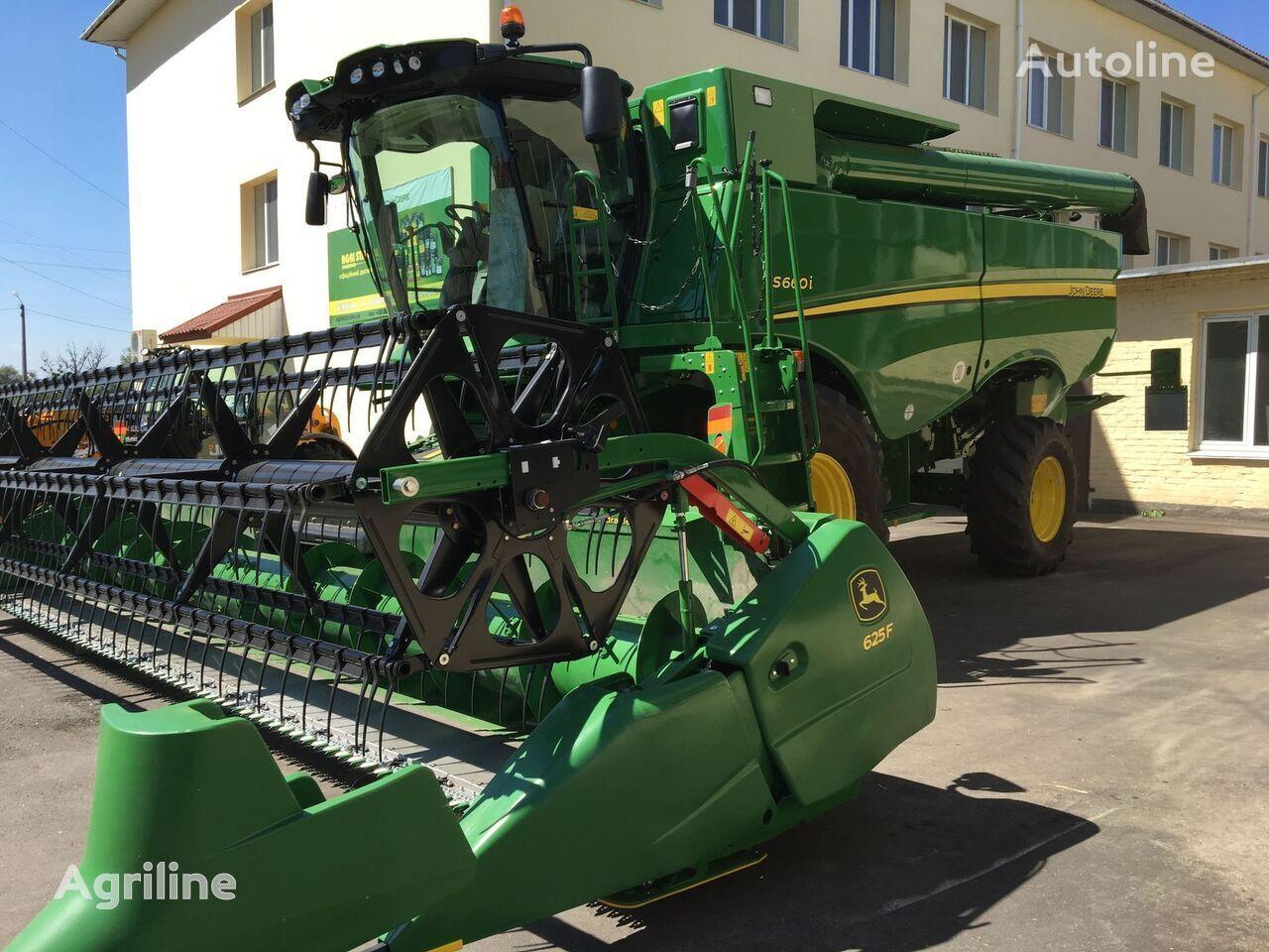 JOHN DEERE S660 forage harvester