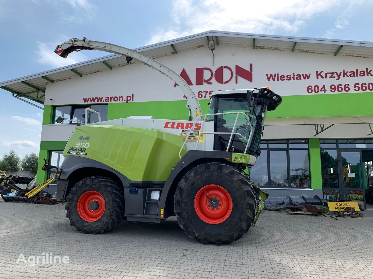 CLAAS CLAAS JAGUAR 950 4x4 forage harvester