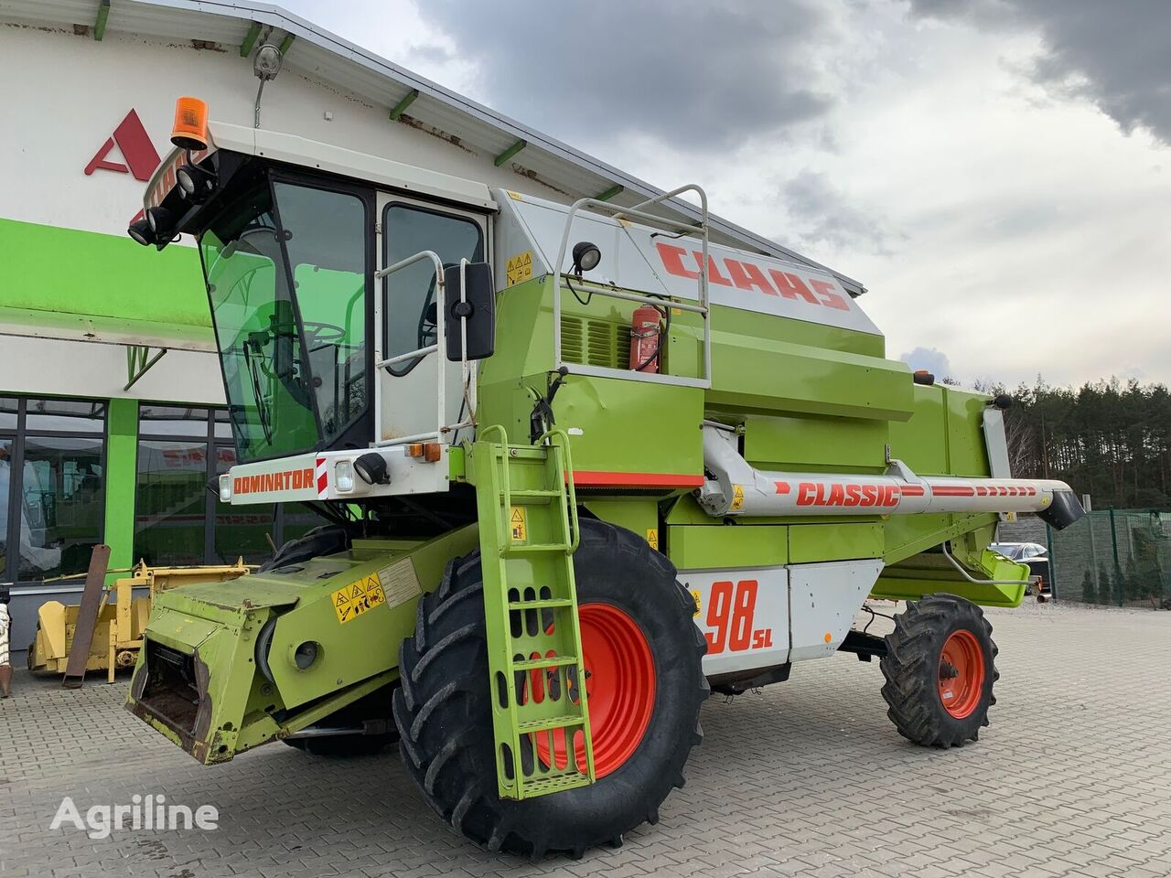 CLAAS Dominator 98 sl Classic forage harvester