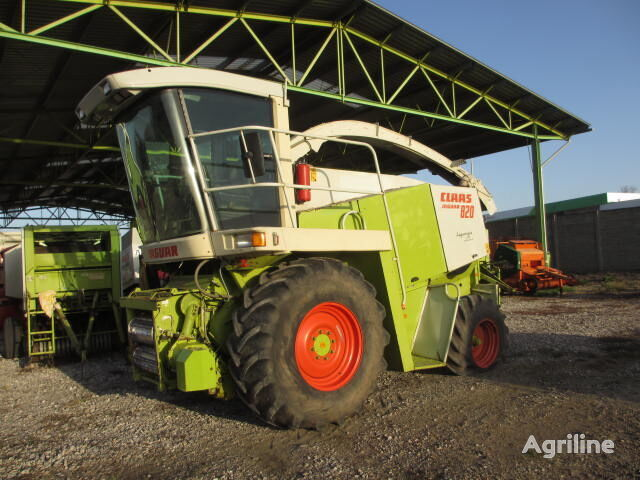CLAAS JAGUAR 820 forage harvester