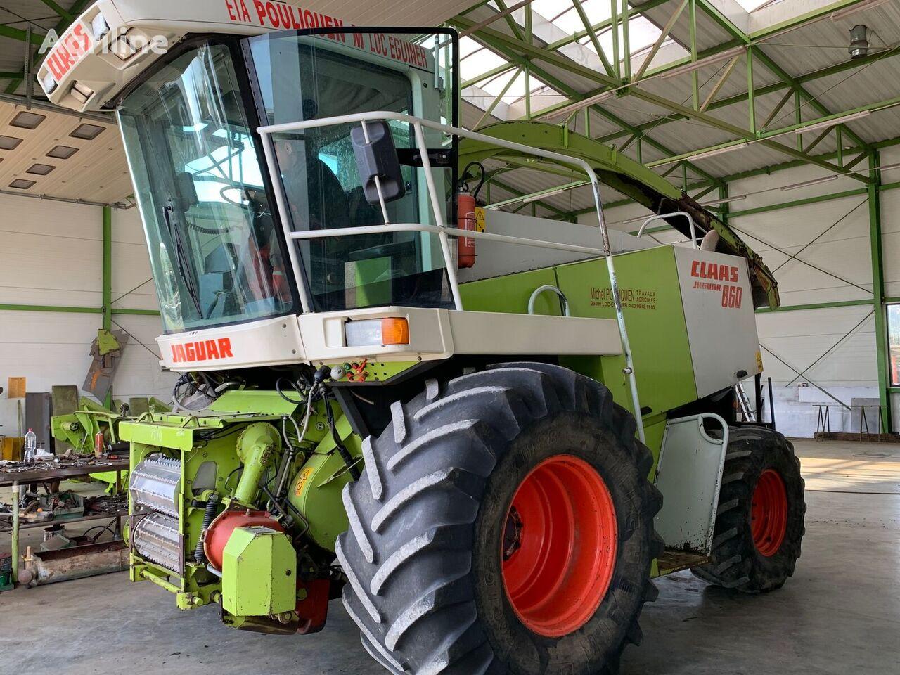 CLAAS JAGUAR 860 4x4 forage harvester