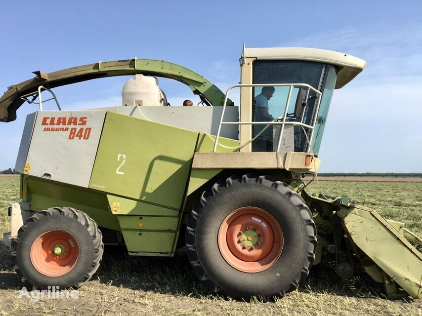 CLAAS Jaguar 840 forage harvester