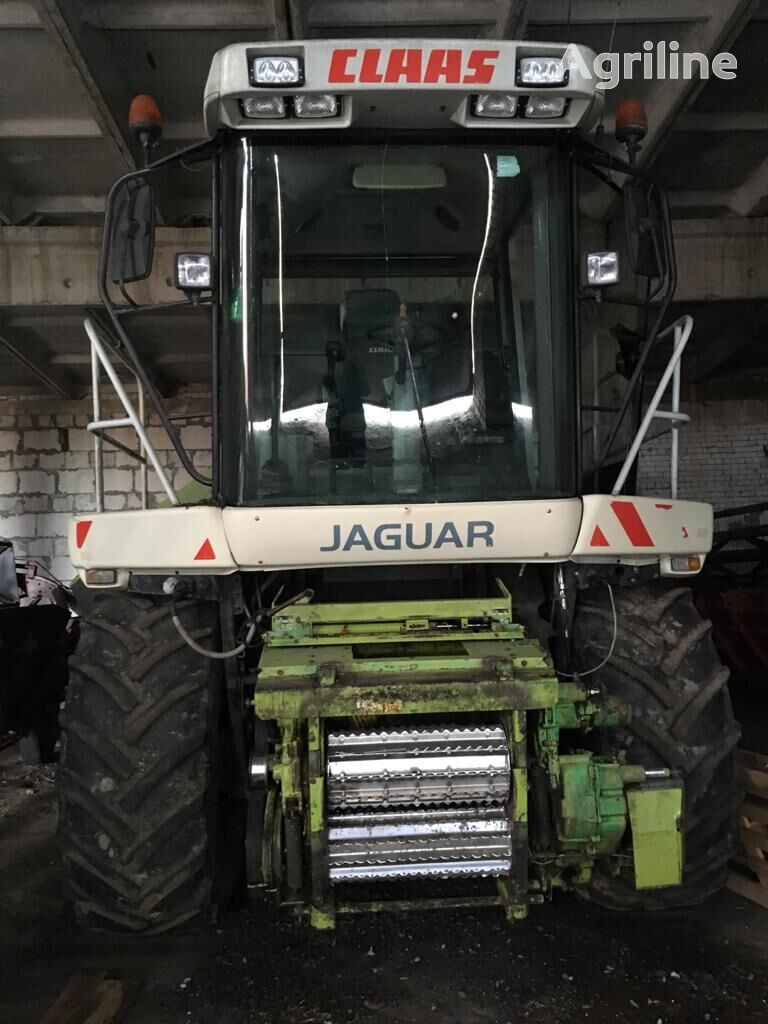 CLAAS Jaguar 850 forage harvester