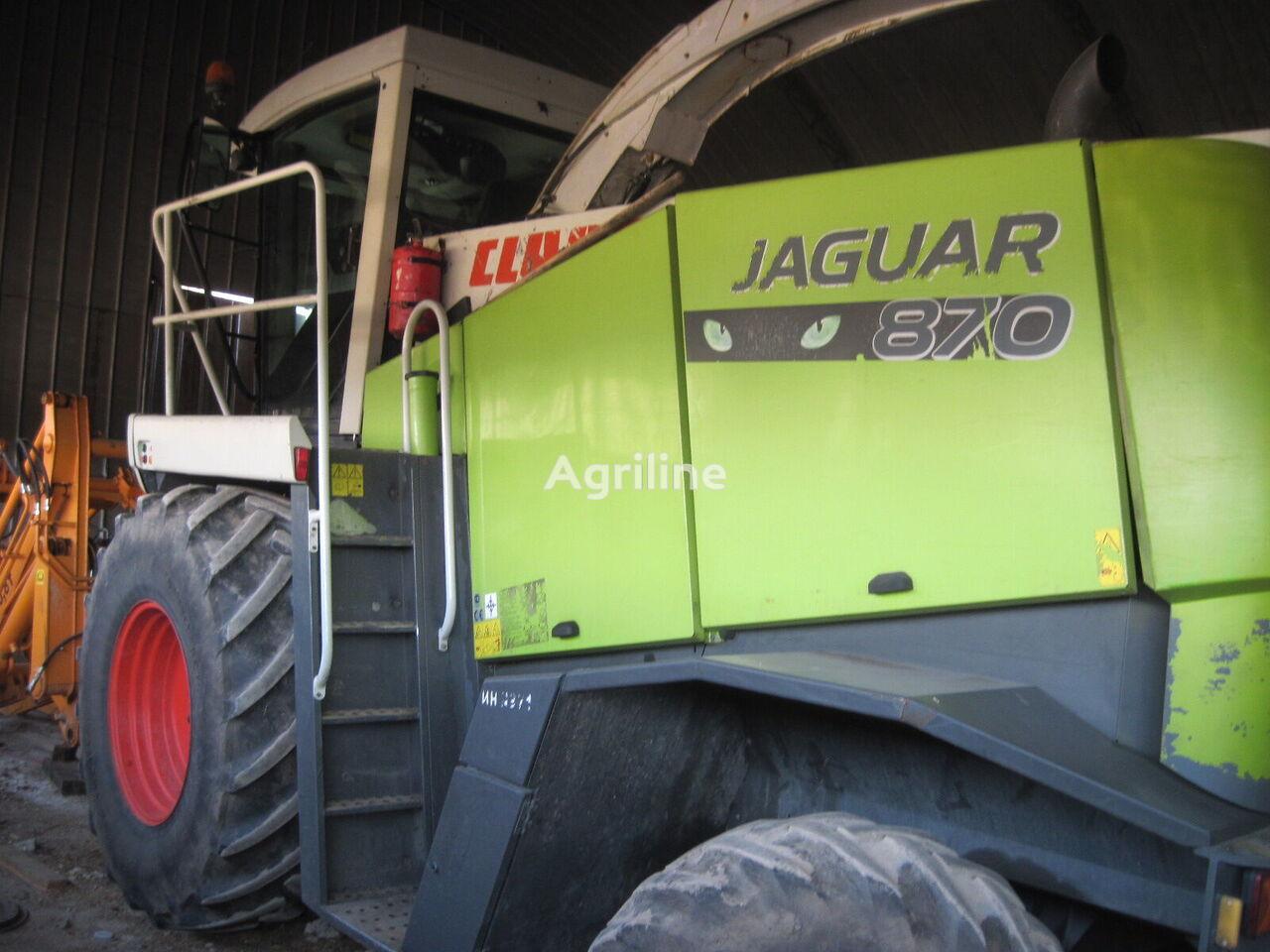 CLAAS Jaguar 870 forage harvester