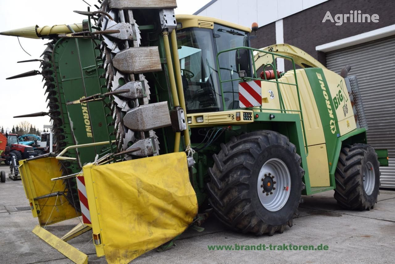 KRONE BIG X V8 forage harvester