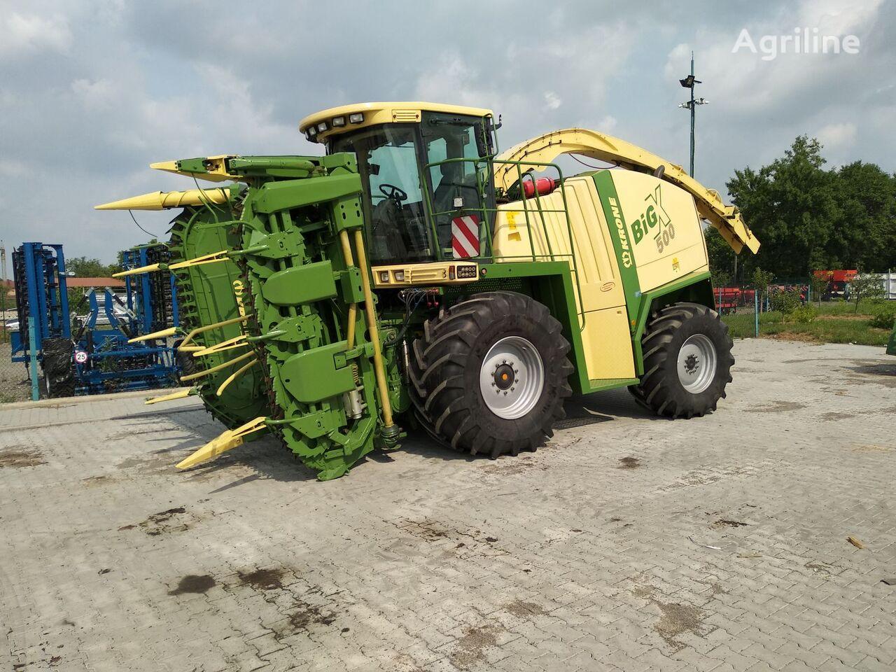 KRONE Big X 500 forage harvester