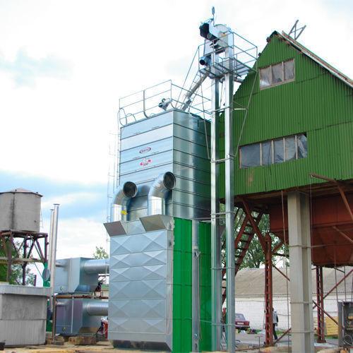 Stacionarnye zernosushilki MEPU serii RCW grain dryer