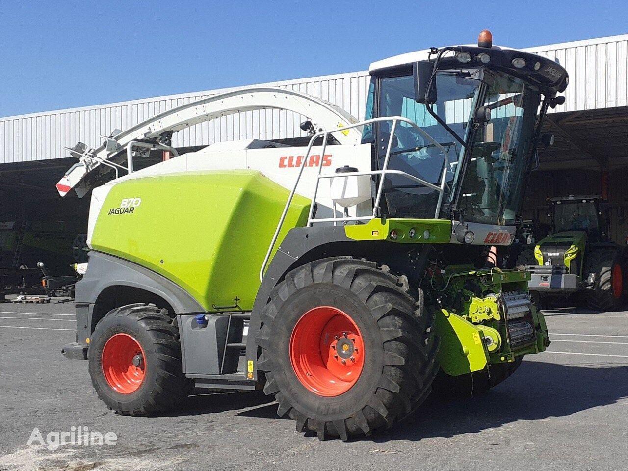 CLAAS JAGUAR 870 grain harvester