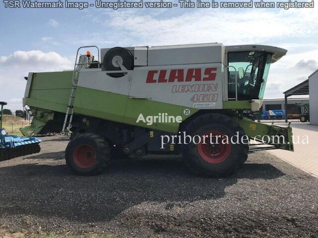 CLAAS Lexion 460 LIZING ZVONITE grain harvester