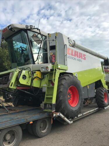 CLAAS Lexion 480 №1165 grain harvester