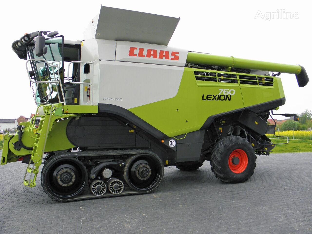 CLAAS Lexion 760 Terra Trac grain harvester