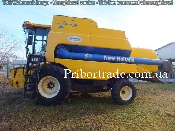 NEW HOLLAND csx 7080 + 2 zhatki №439 grain harvester