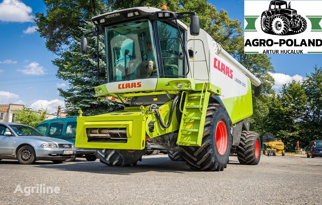 CLAAS LEXION 570  grain harvester
