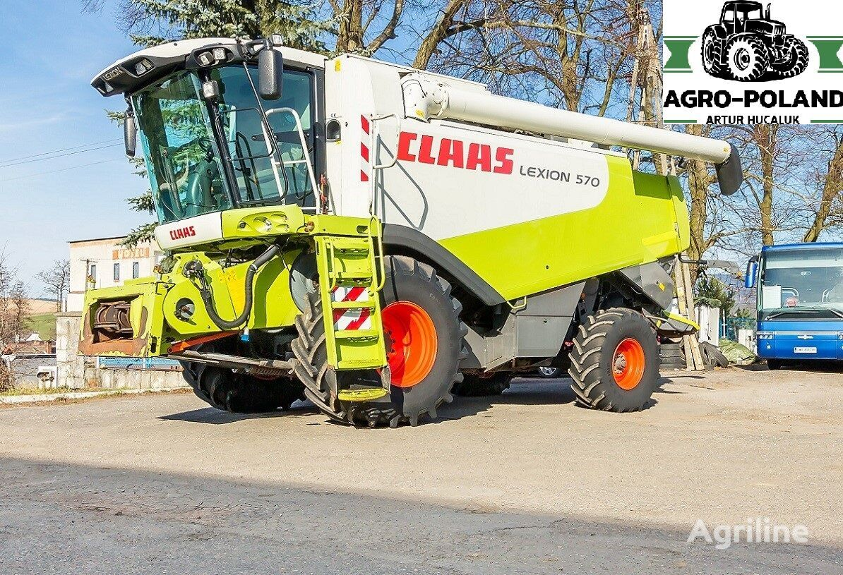CLAAS LEXION 570 - 2005 ROK  grain harvester
