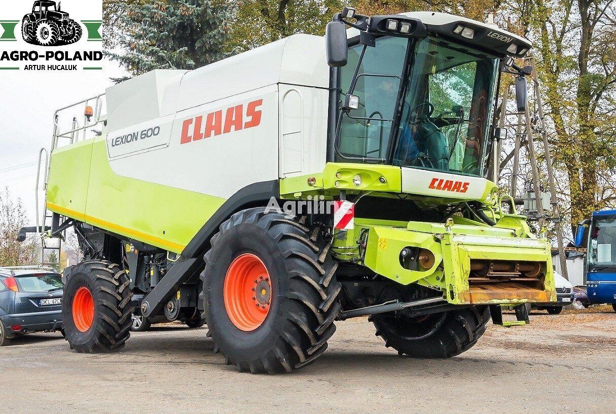 CLAAS LEXION 600 - VARIO 900 - MERCEDES grain harvester