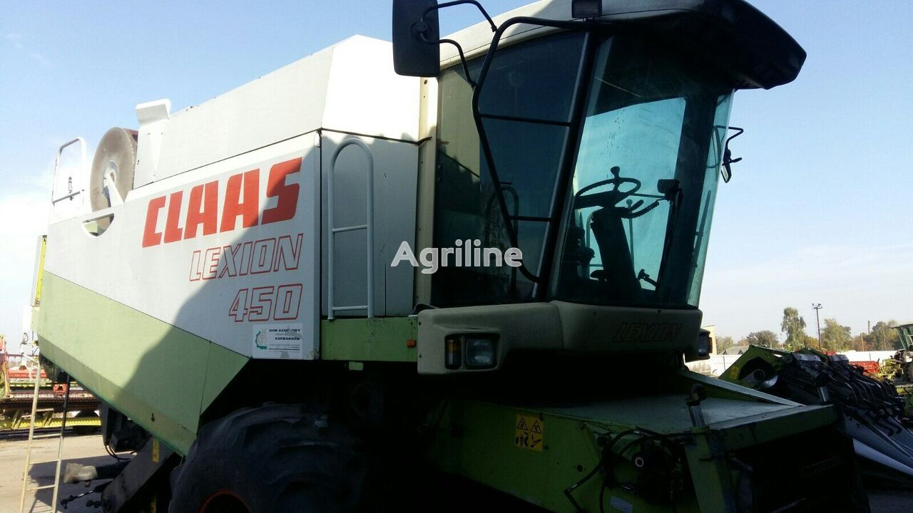 CLAAS Lexion 450  grain harvester for parts