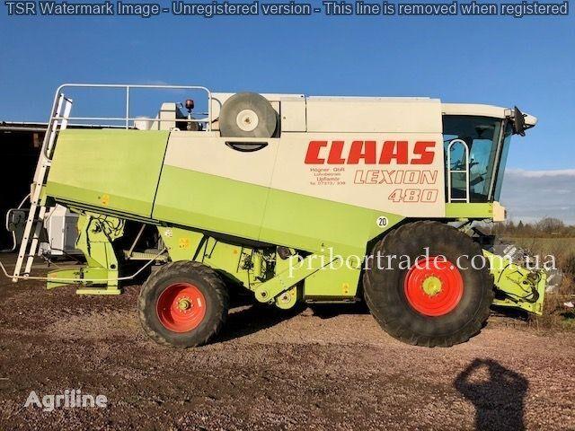 CLAAS Lexion 480 LIZING ZVONITE grain harvester