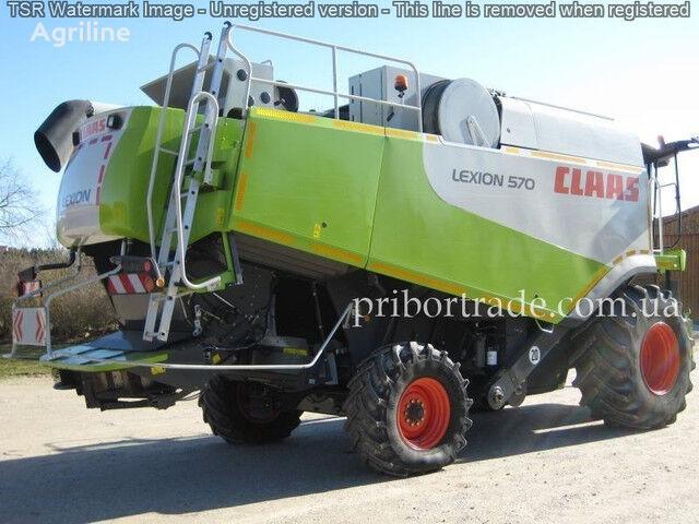 CLAAS Lexion 570 PROSMOTR ZVONITE grain harvester