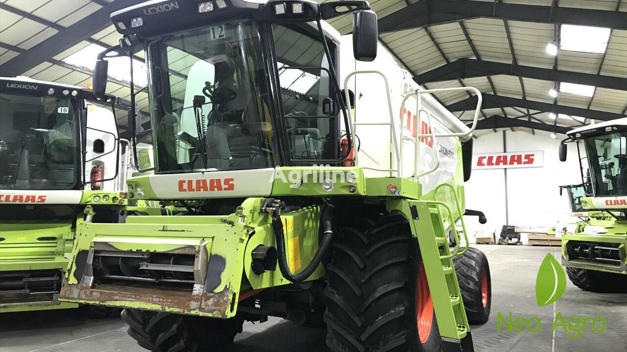 CLAAS Lexion 570 (z Evropi) grain harvester