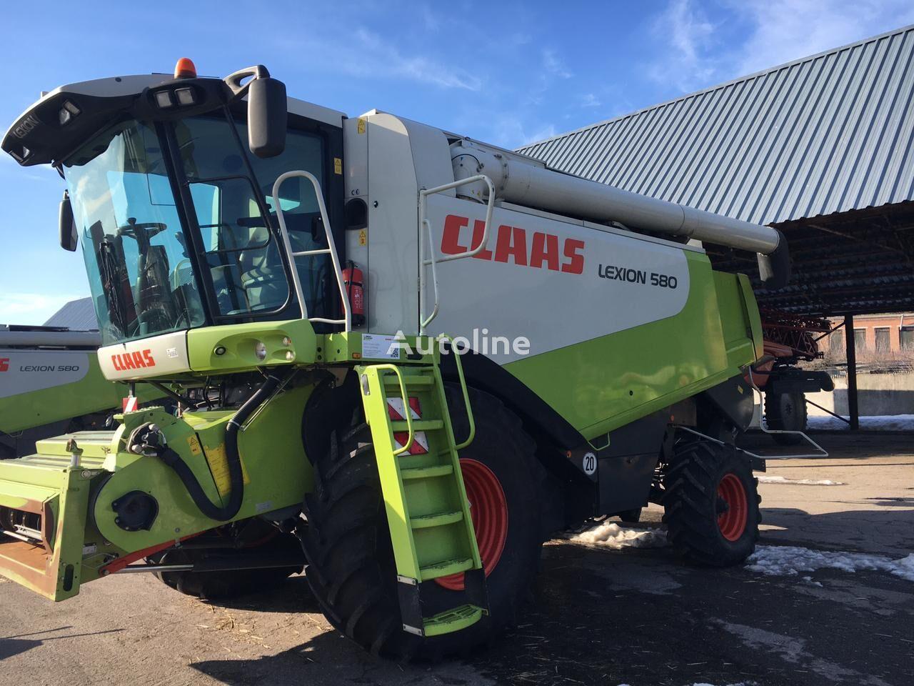 CLAAS Lexion 580. Vario 900 grain harvester
