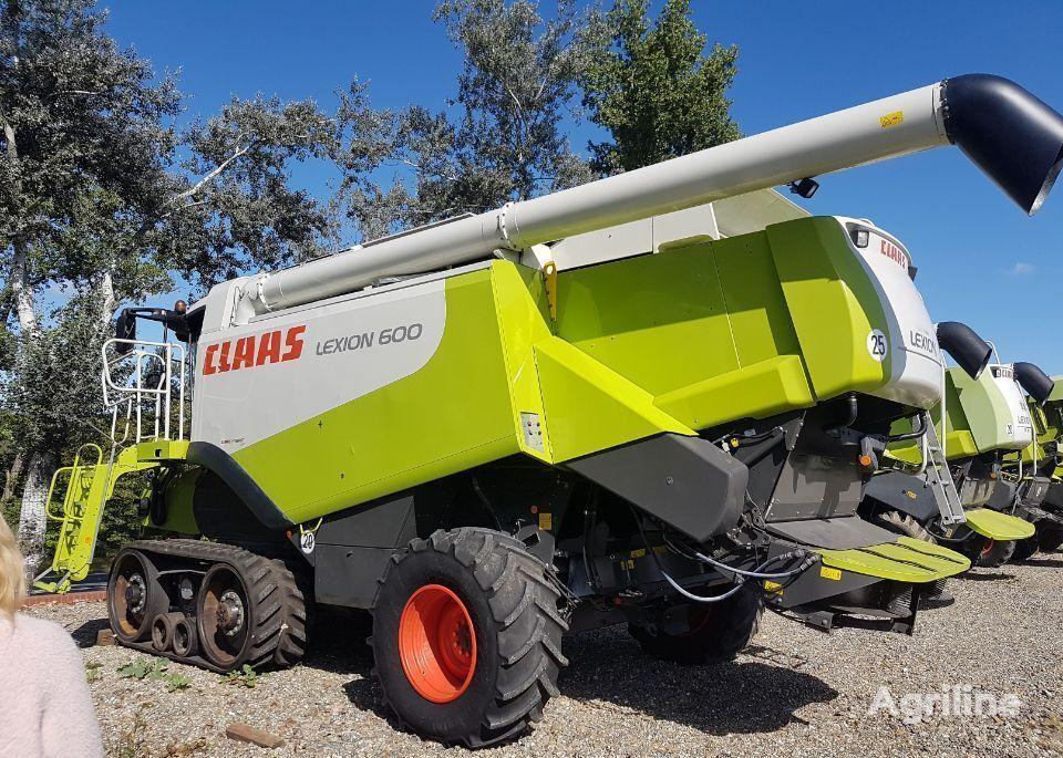 CLAAS Lexion 600TT grain harvester