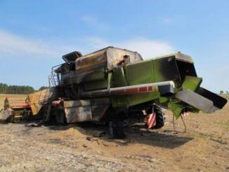 CLAAS MEGA 208 grain harvester for parts