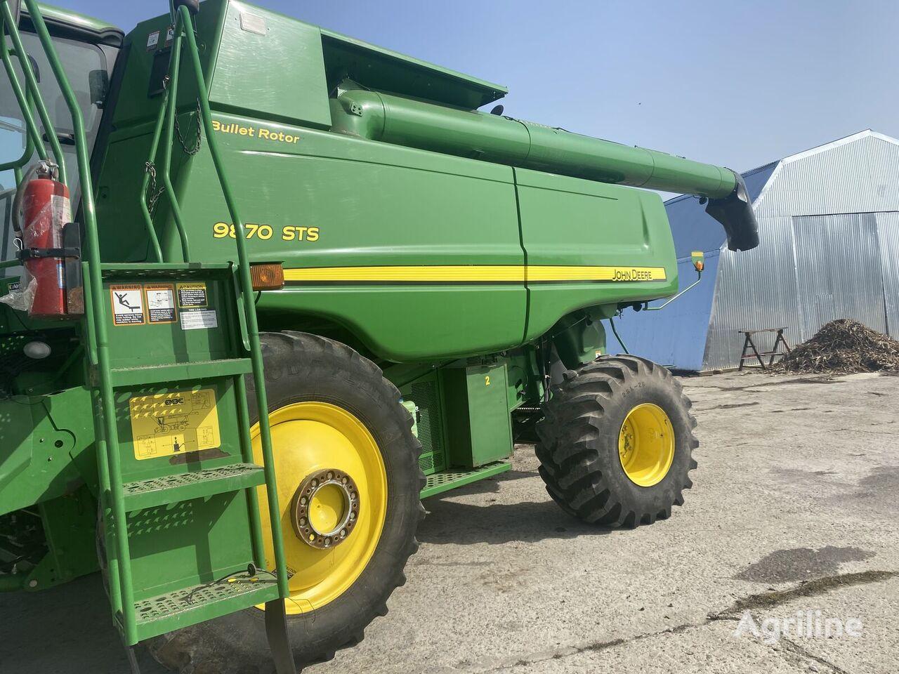 JOHN DEERE 9870 STS V NALIChII!!! grain harvester