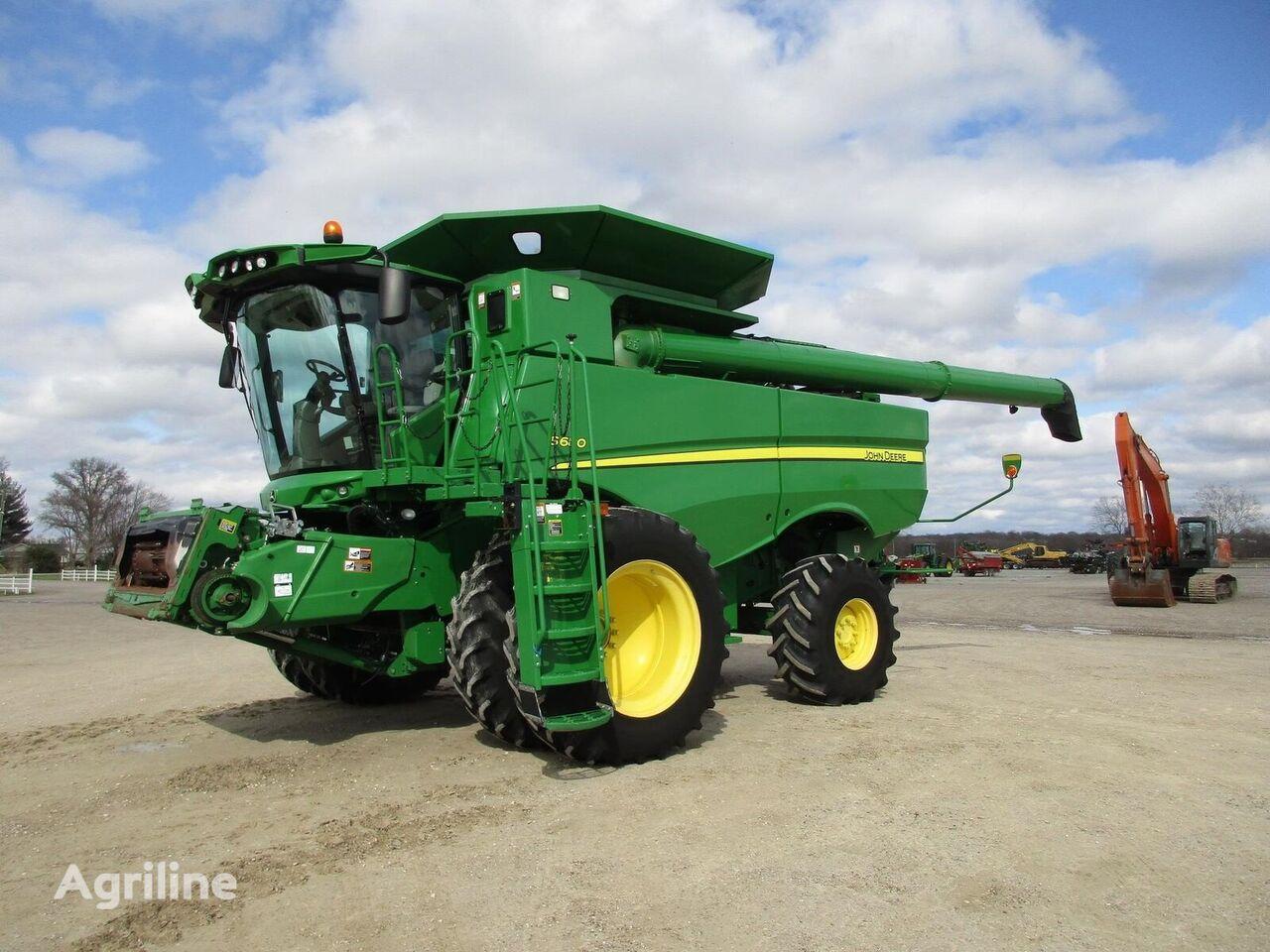 JOHN DEERE S680 grain harvester