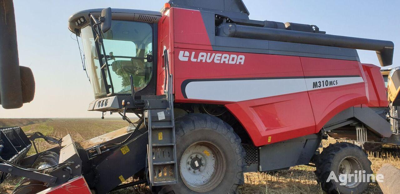 LAVERDA M 310 MCS grain harvester