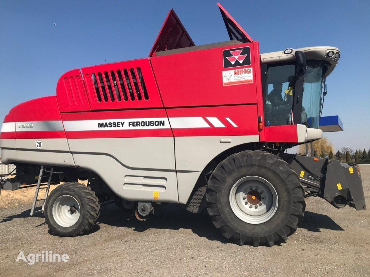 MASSEY FERGUSON 7282 grain harvester