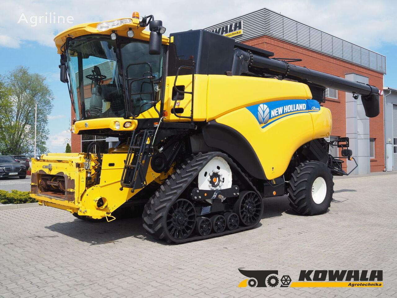 NEW HOLLAND CR9090 SmartTrax + VF 12,5 grain harvester
