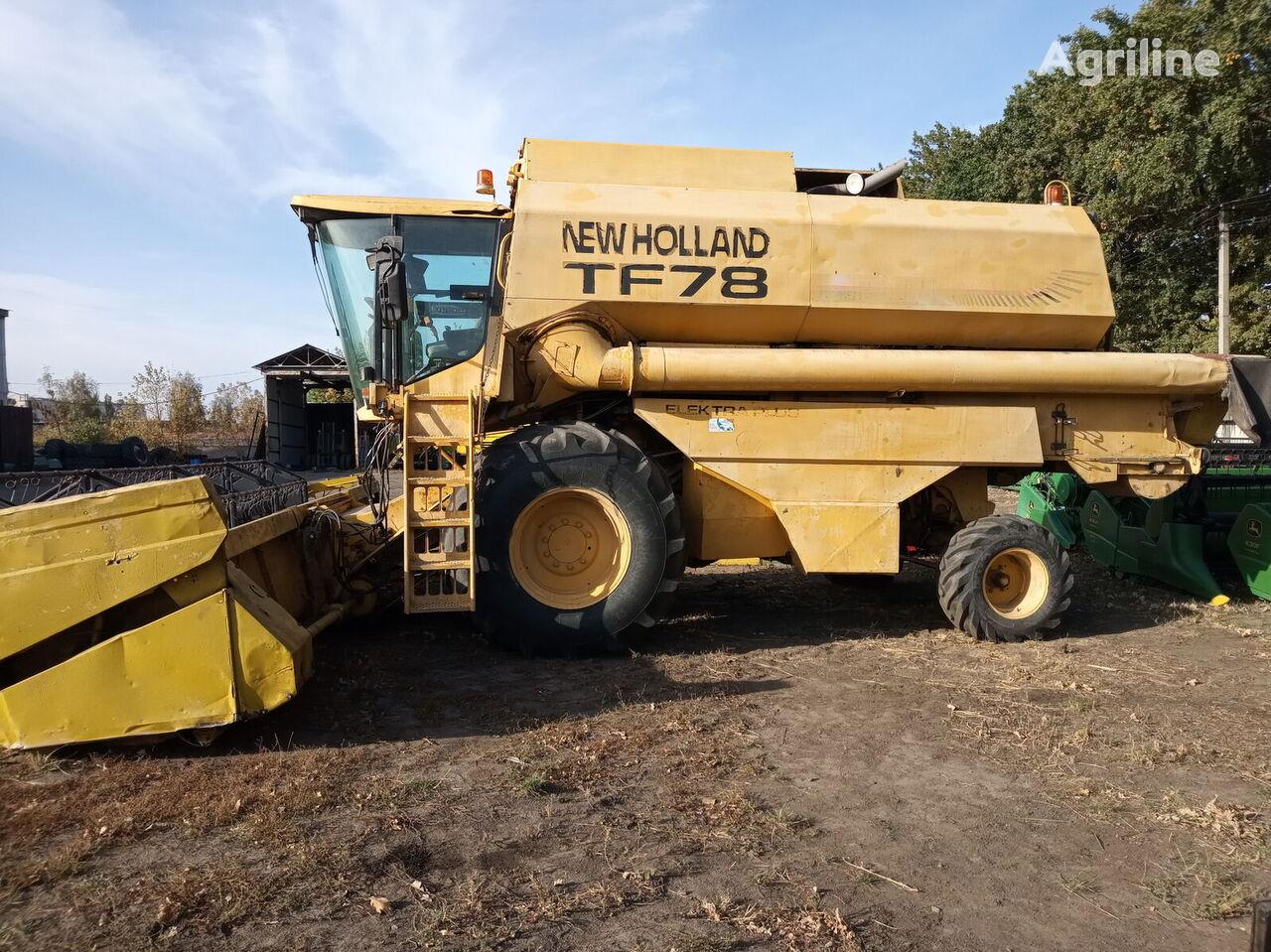 NEW HOLLAND TF 78 grain harvester