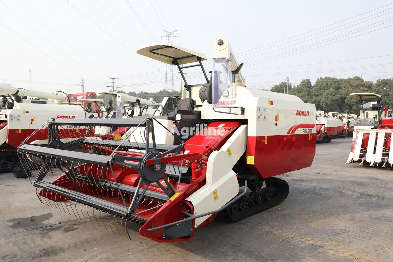new WORLD grain harvester