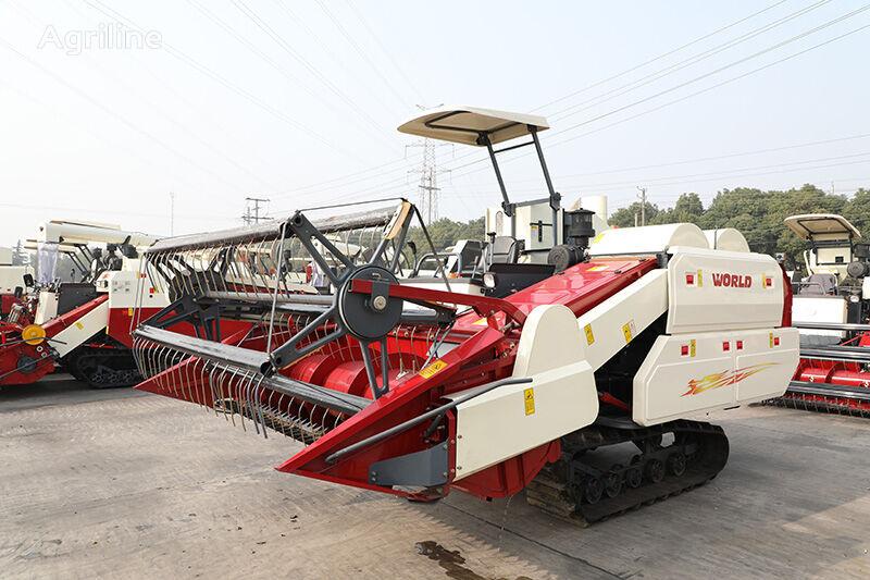 new WORLD 88HP 5.0 grain harvester
