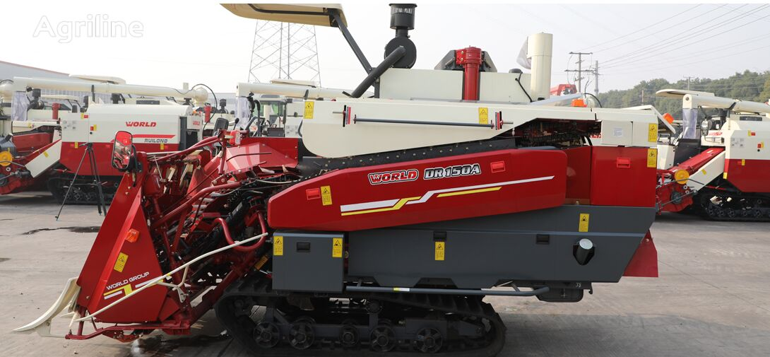 new WORLD Head Feed DR150A grain harvester