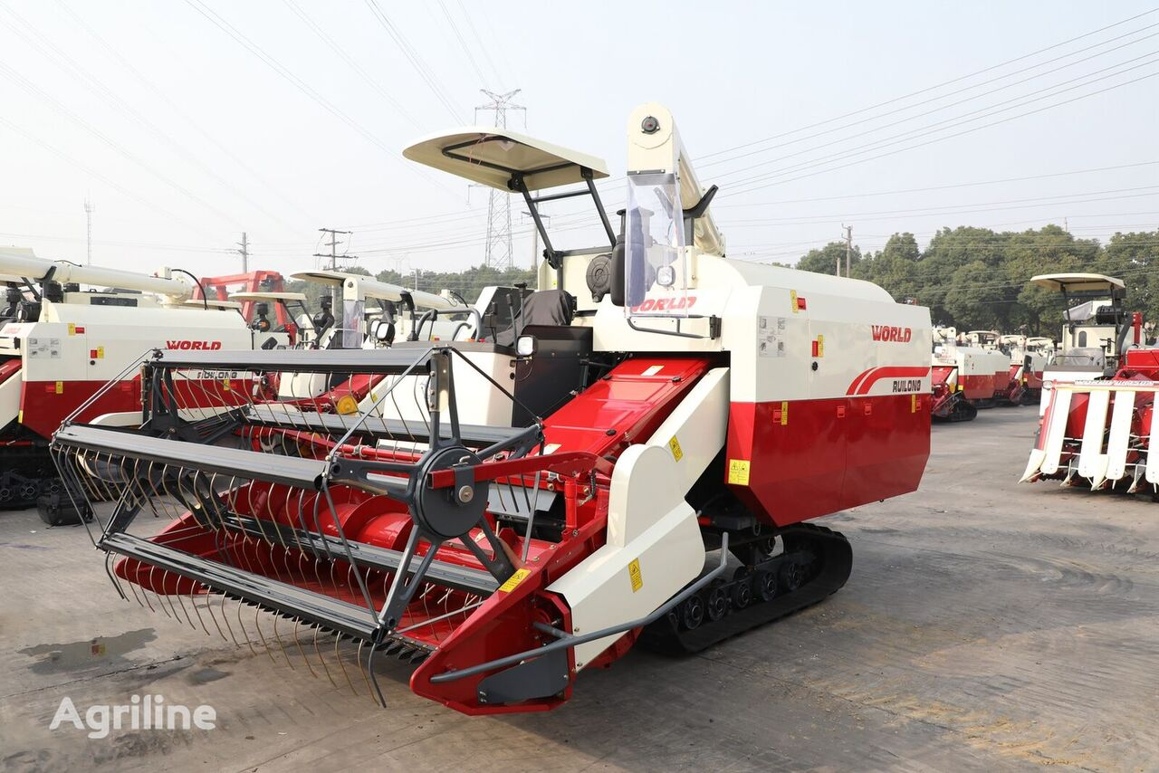 new WORLD RUILONG 4LZ-6.0N grain harvester