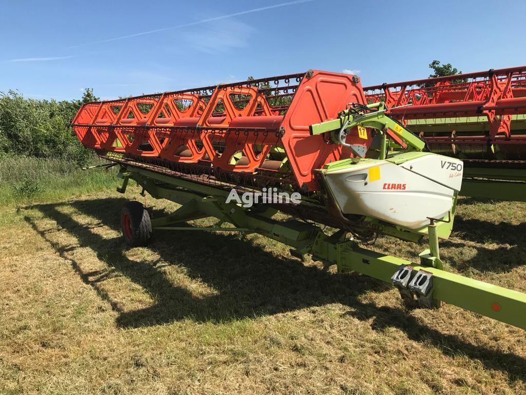 CLAAS V750 grain header