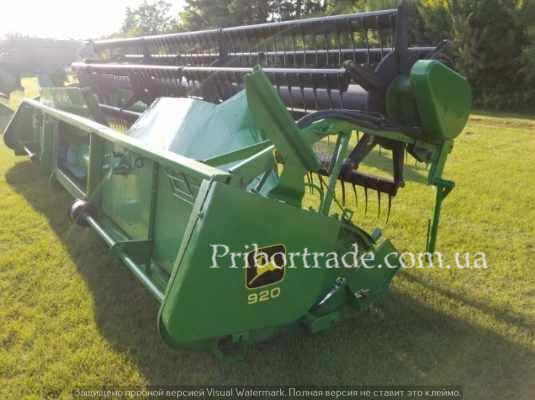 JOHN DEERE 920F Not working in Ukraine №182 grain header