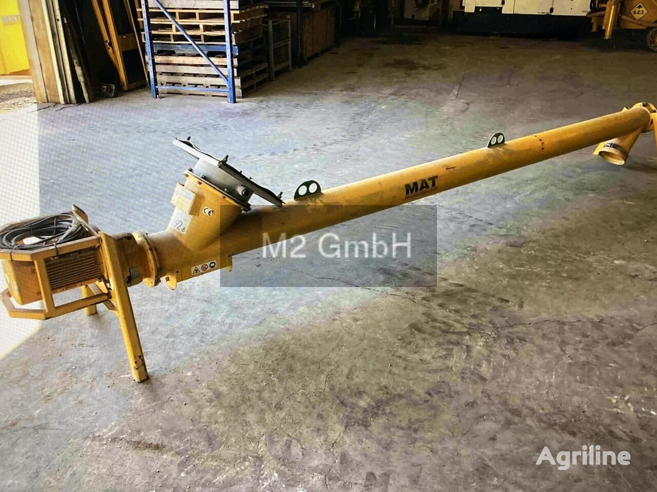 BAUER MAT Förderschnecke FS 193/4000 grain thrower