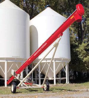 new ROSTSELMASH Transporter zerna shnekovyy TSh grain thrower