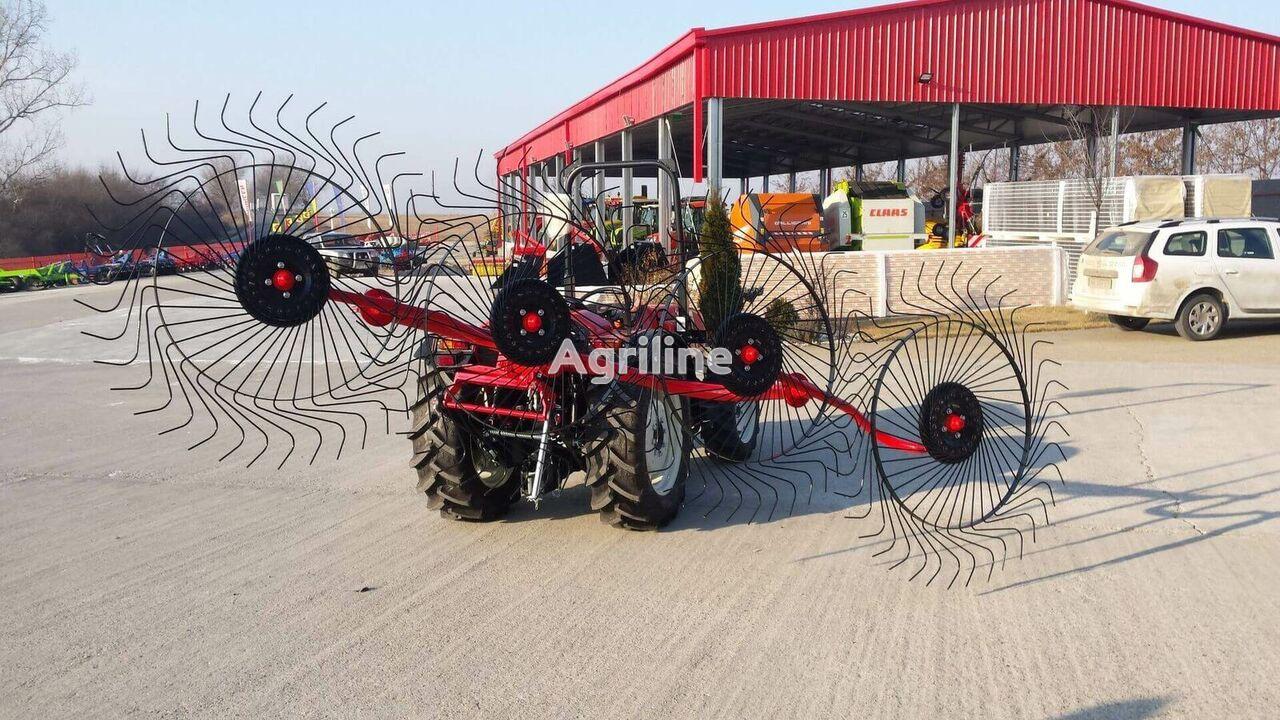 new Greblă de adunat fân cu 4 rotoare hay rake