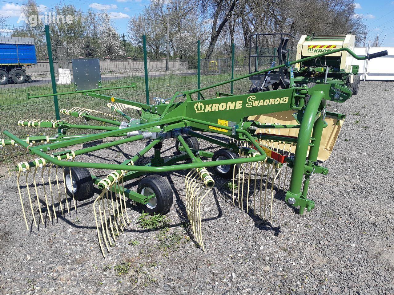 new KRONE Swadro 42 hay rake